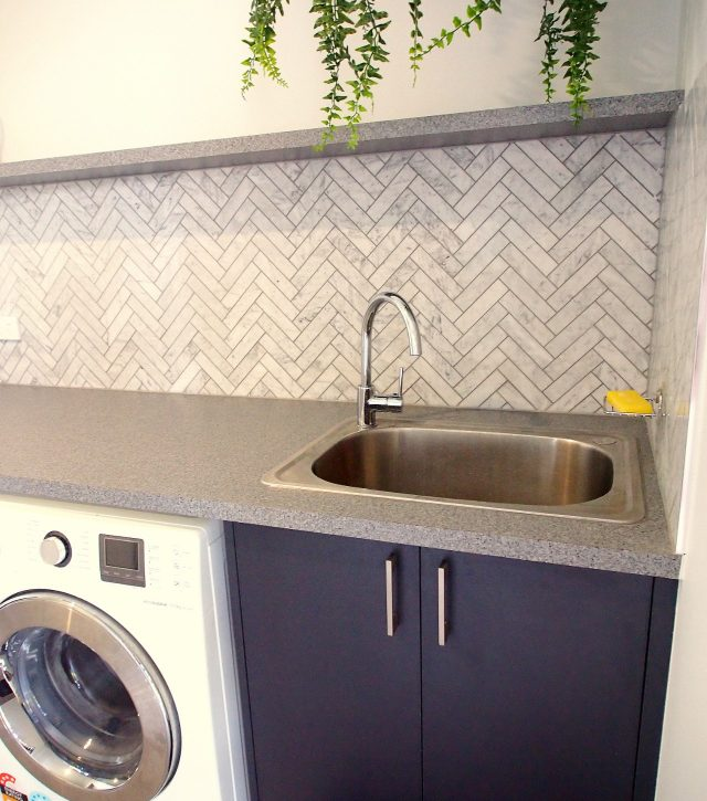 Heavenly Herringbone Laundry 3
