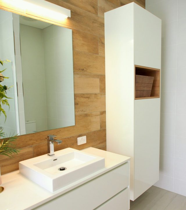 Timber Feature Vanity 4