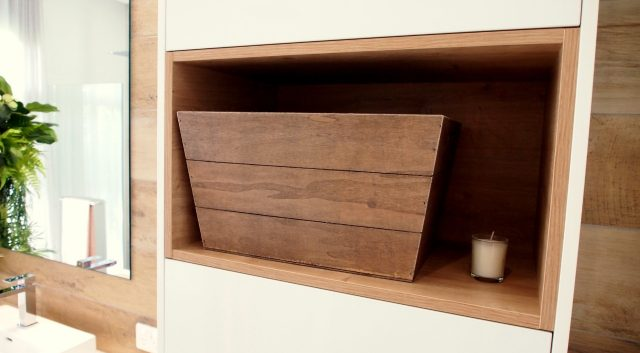 Timber Feature Vanity 6