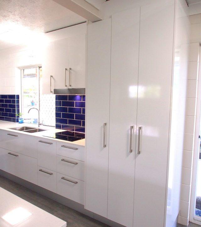 Royal Blue Kitchen 3