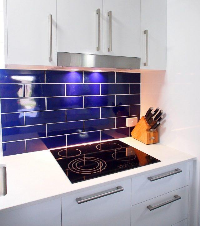 Royal Blue Kitchen 5