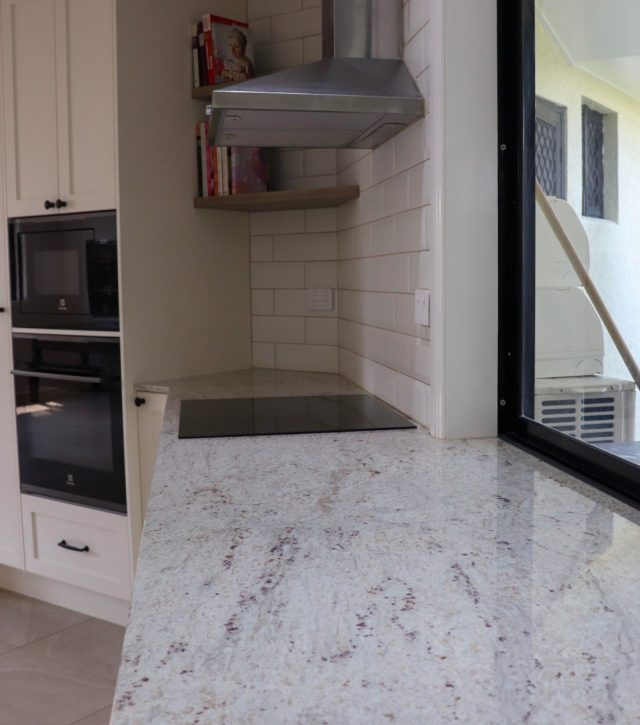 River White Granite Kitchen 12