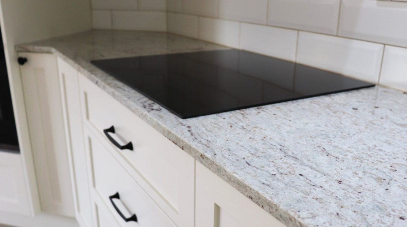 River White Granite Kitchen 16