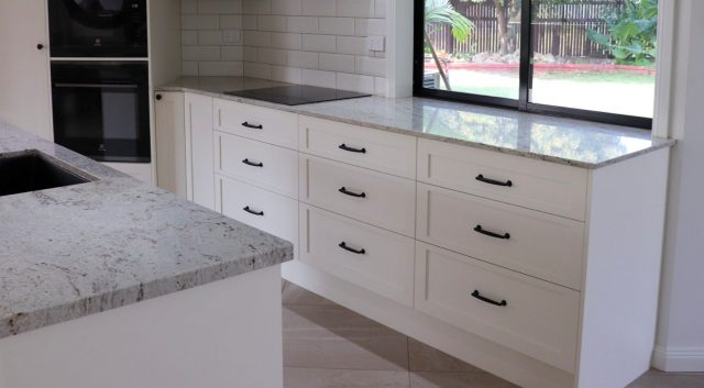 River White Granite Kitchen 4