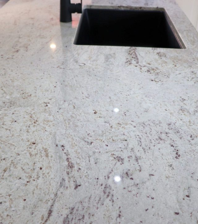 River White Granite Kitchen 6