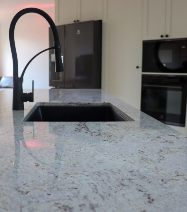 River White Granite Kitchen 7